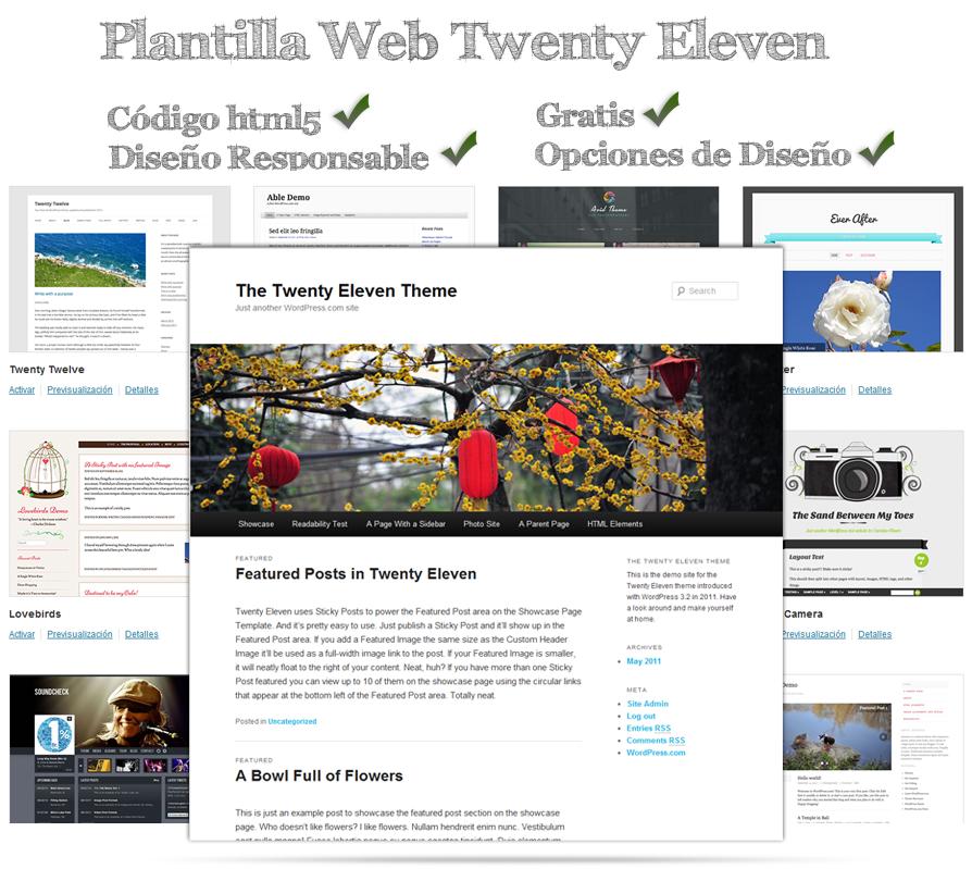 Selección de Plantilla Web   Curso WordPress Gratis